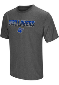 Colosseum Grand Valley State Lakers Charcoal Sleeper Tee