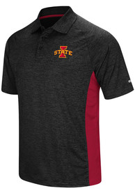 Iowa State Cyclones Colosseum Wedge Polo Shirt - Black