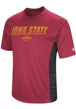Colosseum Iowa State Cyclones Mens Cardinal Beamer Tee