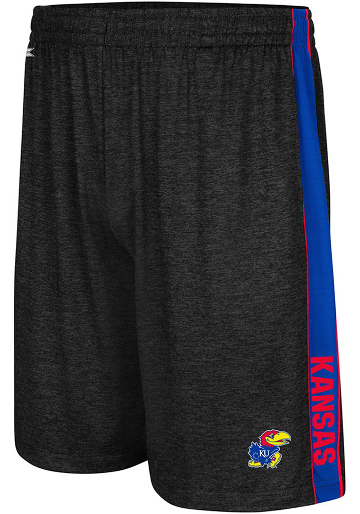702b64918bd Colosseum Kansas Jayhawks Black Wicket Shorts