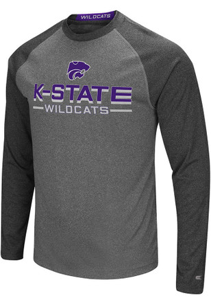 Colosseum K-State Wildcats Mens Grey Ultra Fashion Tee