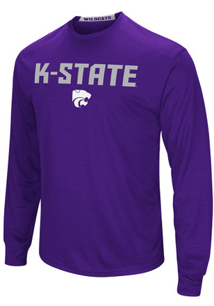 Colosseum K-State Wildcats Mens Purple Setter Tee