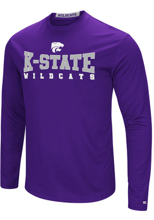Colosseum K-State Wildcats Mens Purple Streamer Tee