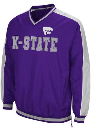 Colosseum K-State Wildcats Mens Purple Attack Pullover
