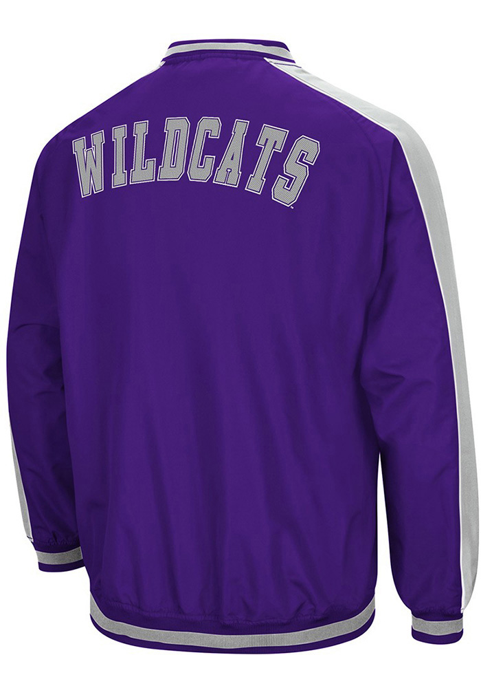Colosseum K-State Wildcats Mens Purple Attack Pullover Jackets - Image 2