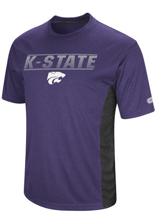 Colosseum K-State Wildcats Mens Purple Beamer Tee