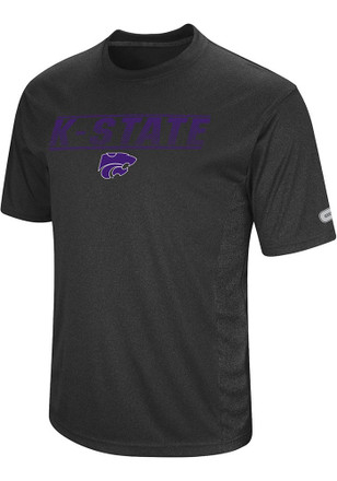 Colosseum K-State Wildcats Mens Black Beamer Tee