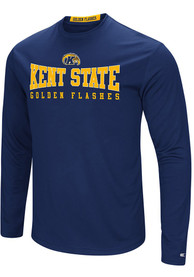 Colosseum Kent State Golden Flashes Navy Blue Streamer Tee