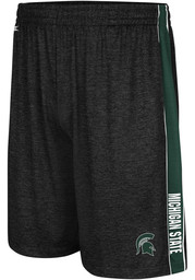 Michigan State Spartans Colosseum Wicket Shorts - Black