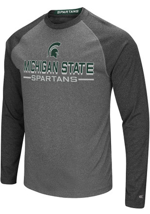 Colosseum Michigan State Spartans Mens Grey Ultra Fashion Tee