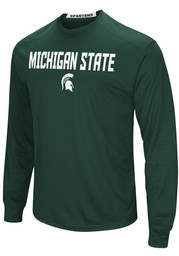 Colosseum Michigan State Spartans Green Setter Tee