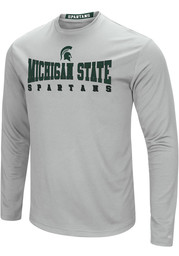 Colosseum Michigan State Spartans Grey Streamer Tee