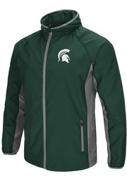 Michigan State Spartans Colosseum Archer Light Weight Jacket - Green