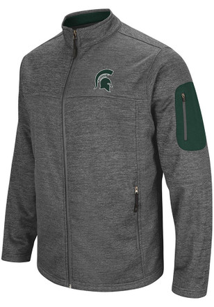 Colosseum Michigan State Spartans Mens Grey Anchor Heavyweight Jacket