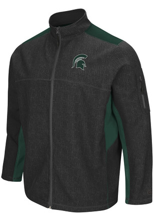 Colosseum Michigan State Spartans Mens Grey Acceptor Light Weight Jacket