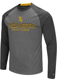 f9ddb895ab12b Colosseum Missouri Western Griffons Grey Ultra Fashion Tee