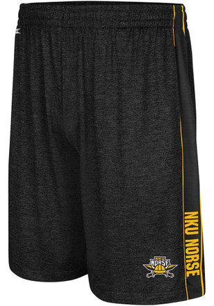 Colosseum Northern Kentucky Norse Mens Black Wicket Shorts