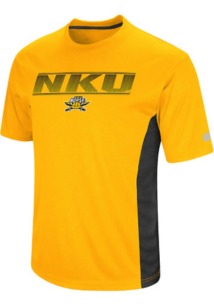 Colosseum Northern Kentucky Norse Mens Yellow Beamer Tee
