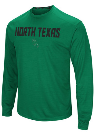 Colosseum North Texas Mean Green Mens Green Setter Tee
