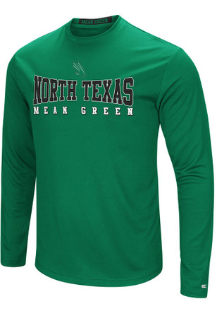 Colosseum North Texas Mean Green Mens Green Streamer Tee