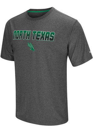 Colosseum North Texas Mean Green Mens Grey Sleeper Tee
