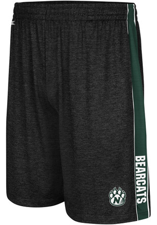 Colosseum Northwest Missouri State Bearcats Mens Black Wicket Shorts