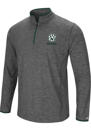 Colosseum Northwest Missouri State Bearcats Mens Grey Diemert 1/4 Zip Pullover