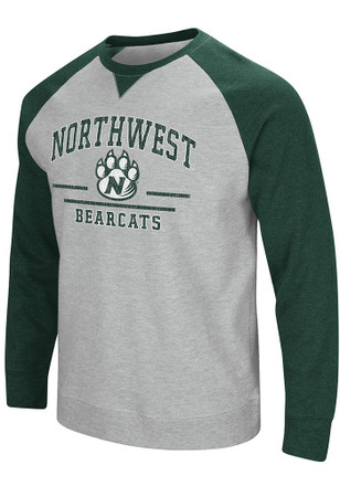 Colosseum Northwest Missouri State Bearcats Mens Grey Turf Fashion Sweatshirt