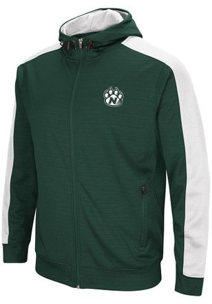 Colosseum Northwest Missouri State Bearcats Mens Green Setter Zip