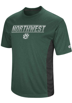 Colosseum Northwest Missouri State Bearcats Mens Green Bmr Tee