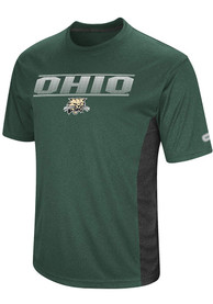 Colosseum Ohio Bobcats Green Beamer Tee