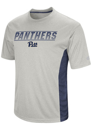 Colosseum Panthers Mens White Beamer Performance Tee
