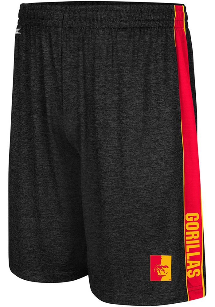 Colosseum Pitt State Gorillas Mens Black Wicket Shorts - Image 1