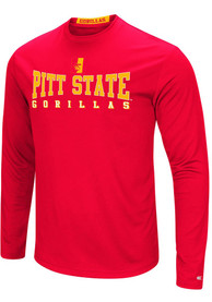 Colosseum Pitt State Gorillas Red Streamer Tee