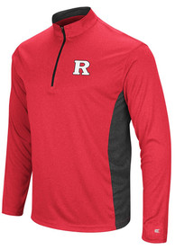 Rutgers Scarlet Knights Colosseum Audible 1/4 Zip Pullover - Red