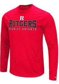 Colosseum Rutgers Scarlet Knights Red Streamer Tee