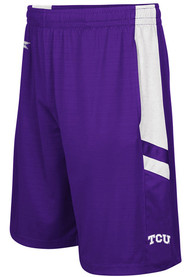 TCU Horned Frogs Colosseum Setter Shorts - Purple