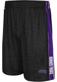 TCU Horned Frogs Colosseum Wicket Shorts - Black