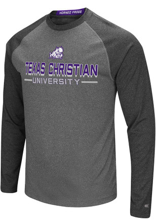 Colosseum TCU Horned Frogs Mens Grey Ultra Fashion Tee