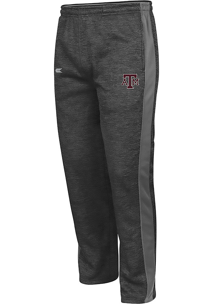 Colosseum Texas A&M Aggies Mens Grey Spotter Pants - Image 1
