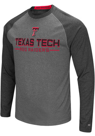 Colosseum Texas Tech Red Raiders Mens Grey Ultra Fashion Tee