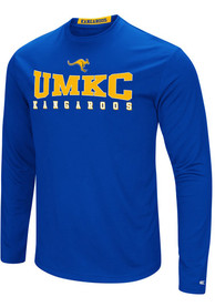 Colosseum UMKC Roos Blue Streamer Tee