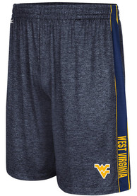 West Virginia Mountaineers Colosseum Wicket Shorts - Navy Blue