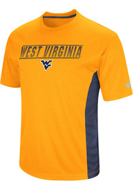 Colosseum West Virginia Mountaineers Yellow Beamer Tee