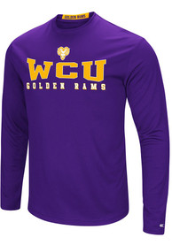 Colosseum West Chester Golden Rams Purple Streamer Tee