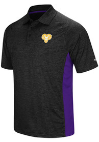 West Chester Golden Rams Colosseum Wedge Polo Shirt - Black