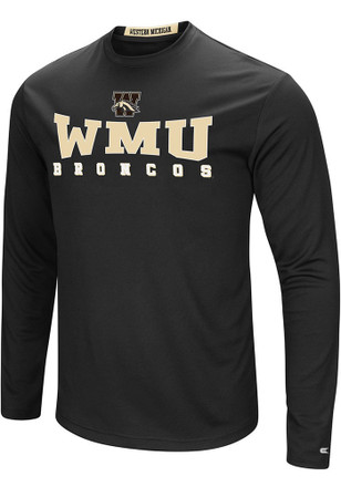 Colosseum Western Michigan Broncos Mens Black Streamer Tee