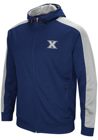Xavier Musketeers Colosseum Setter Zip - Navy Blue