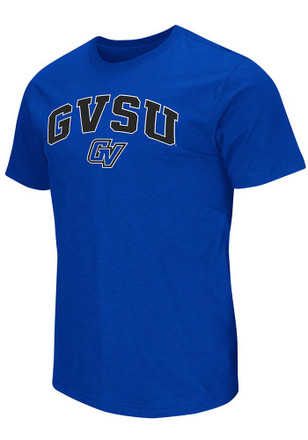 Colosseum Grand Valley State Lakers Mens Blue Mason Tee
