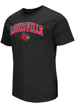 Colosseum Louisville Cardinals Mens Black Mason Tee